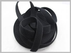 1 Inch Elasticated Straps,Elastic Webbing Straps Unnapped Hook Loop Tape