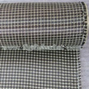 Super Strong Carbon(3K) Kevlar(1500 Denier Yellow)Fabric|195gsm Textile Carbon Aramid Fiber Hybrid Cloth SCA-002