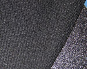 2014 new design poly spun knitted fabric|polyester fabric KKF-052