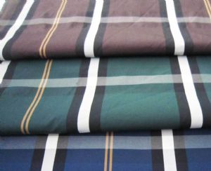 75D polyester plain yarn dyed fabrics CWC-055