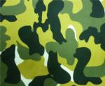 Amry Green Printed lycra fabric SPF-002