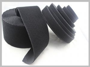 Black Strong Nylon Hook And Loop buy velcro suit Self Sticky Touch And Close Fastener