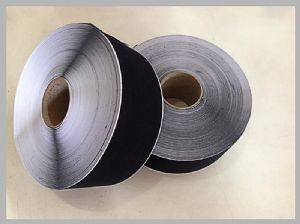 Black / White Reusable Soft Nylon Hook Loop Thin Tape what is velcro used for 150mm Width Sticky Back