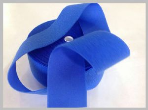 Blue Hook and loop fasteners velcro in space, 50mm Nylon Loop Fabric 25meters per roll