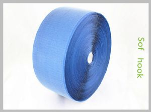 Blue Soft Hook And Loop Tape Fasteners where can i buy velcro straps,double sided hook loop reusable