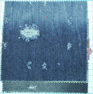 China Good manufacturer denim jeans fabric textile CDF-040