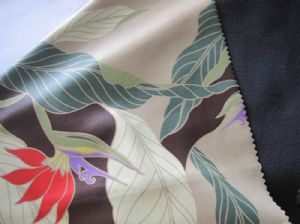 Composite peach skin printed cloth JCF-020