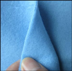 Two Side Brushed Double Side Brushed Fleece Fabric, Garment, FDY150d/96f KFE-012