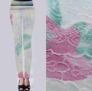 Elasticity printed composite filament fabric PF-022