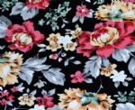 FLoral Nylon spandex fabric for underwear PFF-049