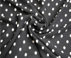 Fashion dot print skirt fabric DF-057