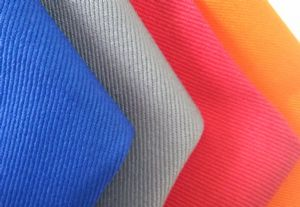 UL certificate antistatic 260gsm 100% cotton fire retardant fabric for protection SSR-023