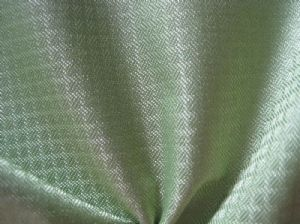 Glisten plaid polyester fabric OFF-097