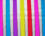 Gold Stamping Stripe swimwear Fabric PPF-010