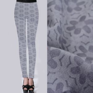 Hexagon flower printed leggings fabric PF-054