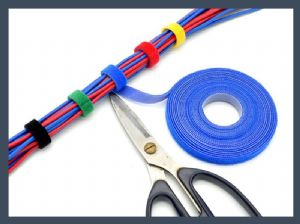 High quality back to back wire arrangement cable tie,colours