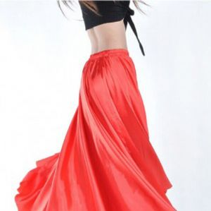 High quality polyester satin fashion lady dress fabric DF-123