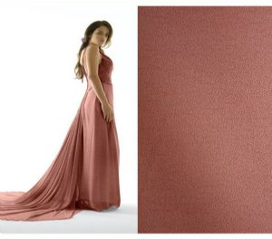 100% polyester|high twisting chiffon fabric DF-074