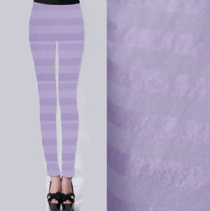 Horizontal stripe printed leggings fabric PF-052