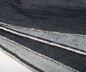 Hot sale wax denim fabric CDF-017