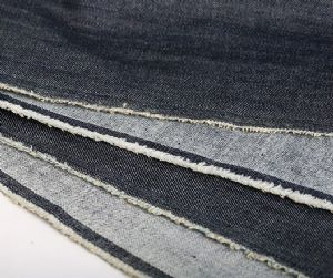 Hot sale wax denim fabric CDF-033