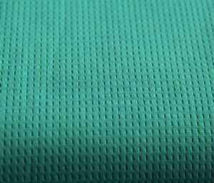 Hot sales waffle cloth 100% polyester fabric KKF-060