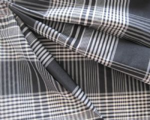 Interweave taslon plaid cloth OFF-104