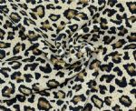 Leopard printed Poly spandex fabric PLF-026