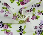 Light Printed Flower Nylon Spandex Fabric PFF-056