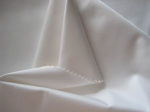 Low elastic plain polyester fabric OFF-088