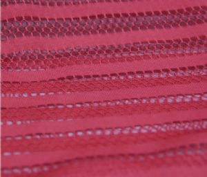 Mesh laminate fabric|Knitted polyester fabric colorful design fashion MF-063