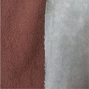 Micro Suede Fabric Bonded Polar Fleece MSF-054