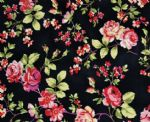 Mini Rose Printed underwear fabric RPF-007