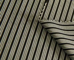 New design double layer stripe jersey polyester fabric with unti-UV KKF-024