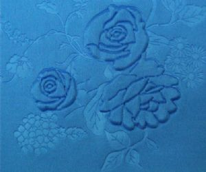 New surface spandex polyester interlock embossed fabric KKF-061
