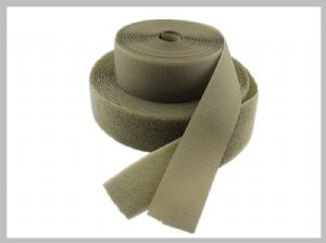 Nylon Padded Straps Double Sided Hook And Loop how to get velcro to stick self adhesive Beige Colour