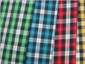 Nylon yarn dyed popular plaid fabric CWC-019