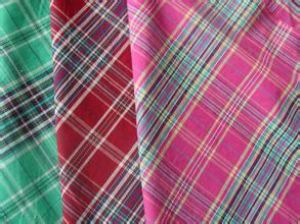 Fashionable nylon yarn dyed plaid fabric CWC-020