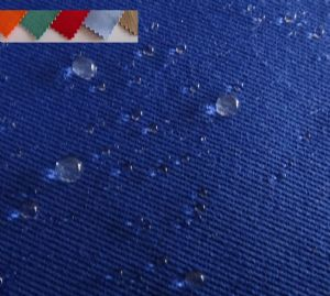 CVC oil waterproof fabric for jackets chinese factory SWO-011