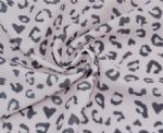 Pink Leopard printed fabric SSF-100