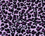 Pink leopard animal Pritned lycra fabric PLF-007