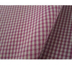 Plaid polyester stretch fabric with excellent elasticity for garments CWC-030