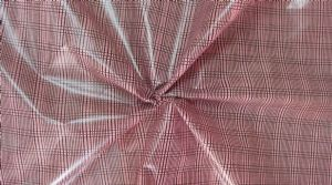 Plaid printed delustering nylon fabric PPF-028