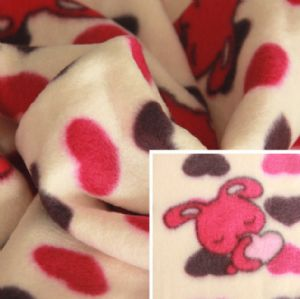 Printed Polar Fleece Double -Faced Pile Poly Fleece Fabric KFE-002