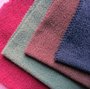 100%Polyester Dyeing Knitting Polar Fleece, FDY150d/96f KFE-011
