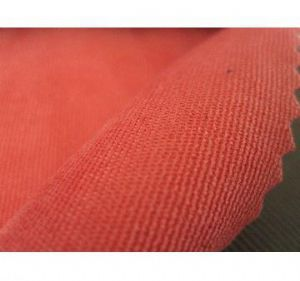 Polyester Nylon peach skin fabric with soft texture for garments AWF-048