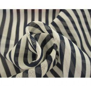 100% Polyester Satin Chiffon Fabric with Printing for Garments SF-042