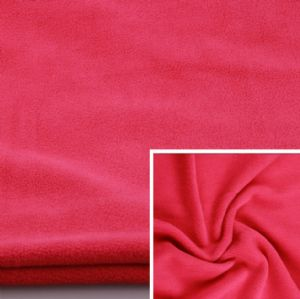 Plain Spun Polyester Polar Fleece Spun Yarn Polar Fleece 100% Polyester Terry Fleece KFE-032