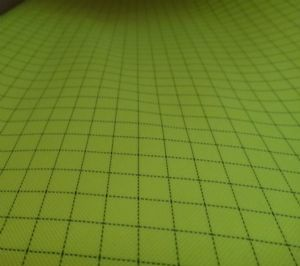 5mm grid or stripe polyester antistatic fabric SSR-015