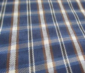 Polyester check yarn dyed fabric CWC-004